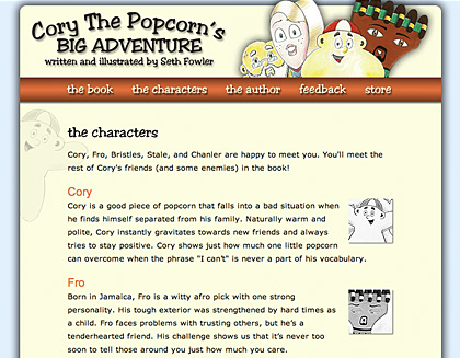 Cory the Popcorn's Big Adventure